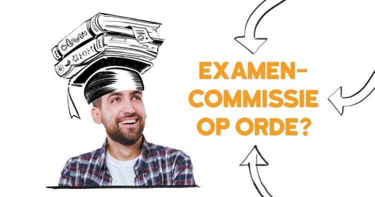 Checklist examencommissie