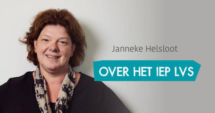 Janneke over het IEP LVS