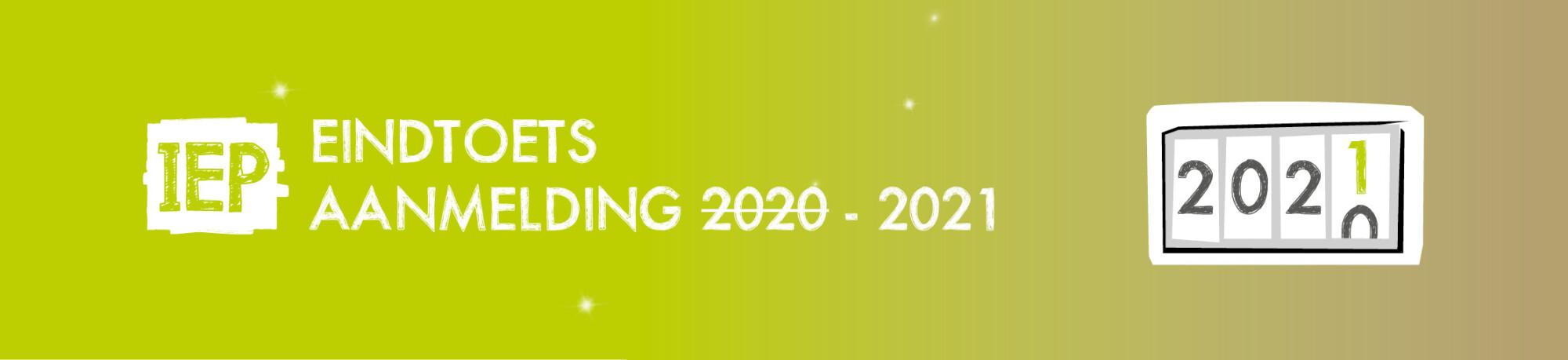 IEP Eindtoets 2021