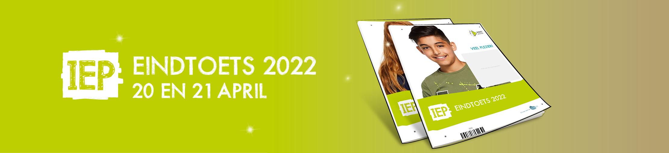IEP Eindtoets 2021 Banner Website Algemeen
