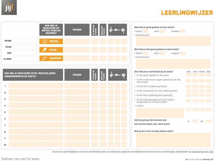 JIJ! Toetsing & Training - Leerlingwijzer