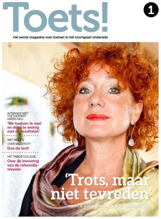 Toets! Magazine 1 - Bureau ICE