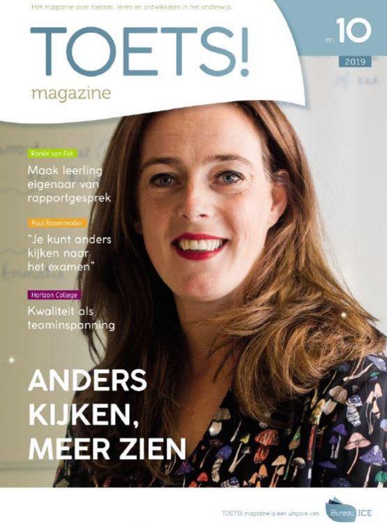 Toets! Magazine cover editie 10