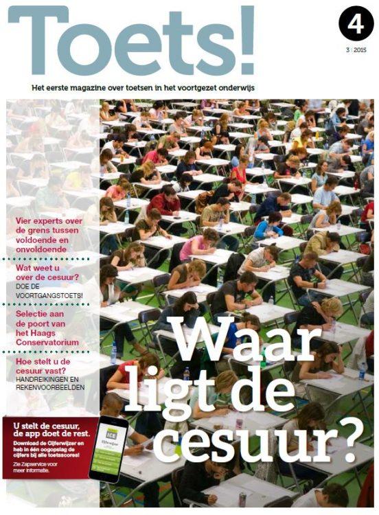 Toets! Magazine 4 - Bureau ICE