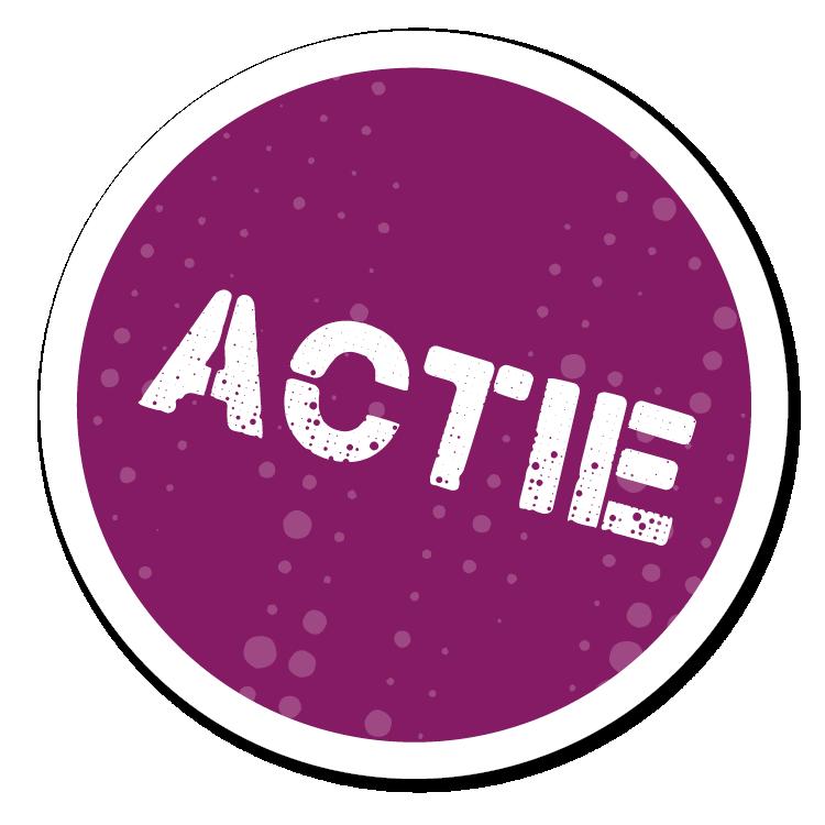 TOA Actie sticker cgi